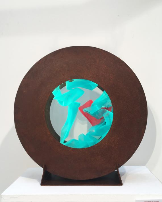 La Pausada Belleza del Movimiento Acuático IX  Escultura de Violeta Maya McGuire   Compra arte en Flecha.es