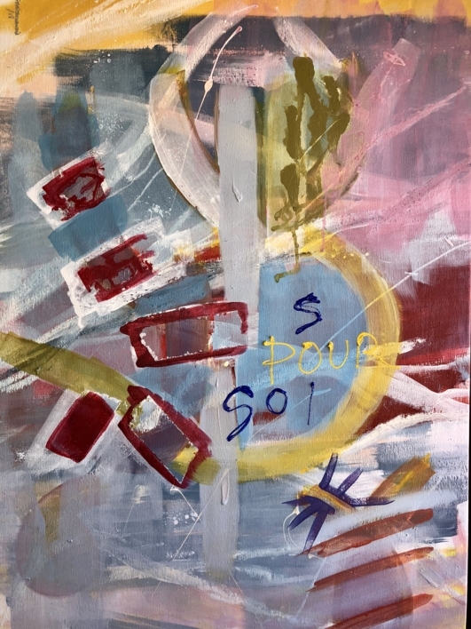 POUR SOI |Pintura de Iraide Garitaonandia | Compra arte en Flecha.es
