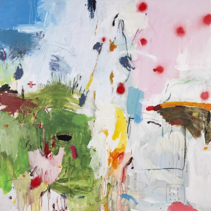 Composición Espacial 1 |Pintura de Ana Cano Brookbank | Compra arte en Flecha.es