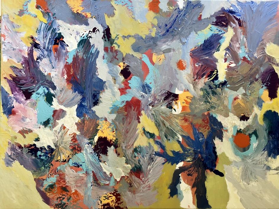 HELENE |Pintura de Iraide Garitaonandia | Compra arte en Flecha.es