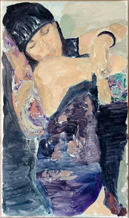 Judit |Pintura de Eduardo Alvarado | Compra arte en Flecha.es