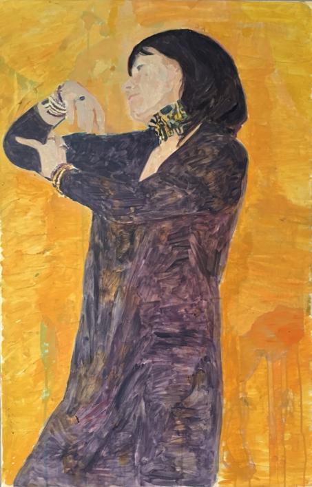 Salomé |Pintura de Eduardo Alvarado | Compra arte en Flecha.es