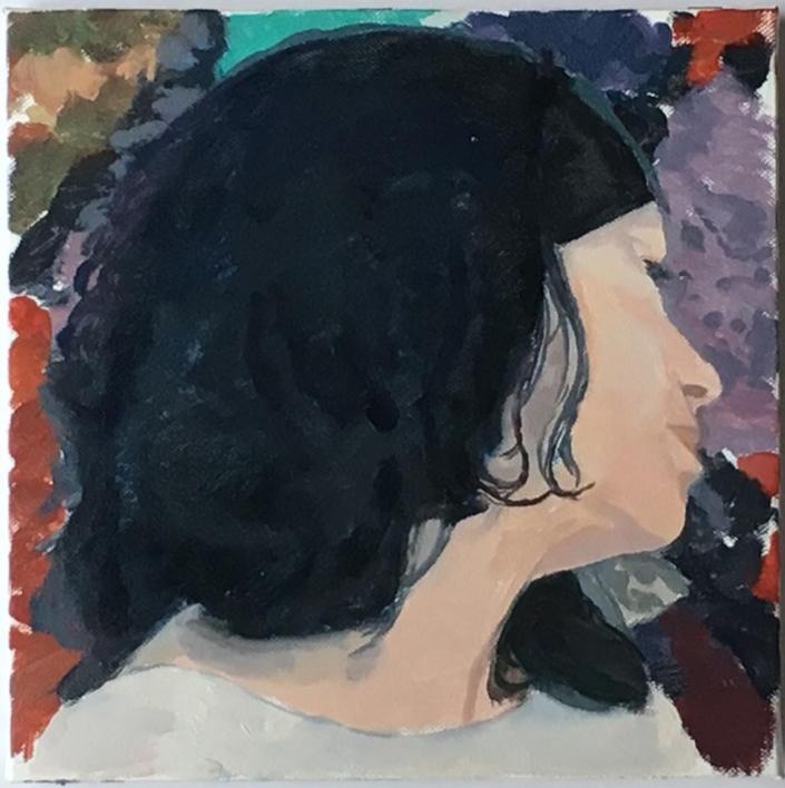 Retrato |Pintura de Eduardo Alvarado | Compra arte en Flecha.es