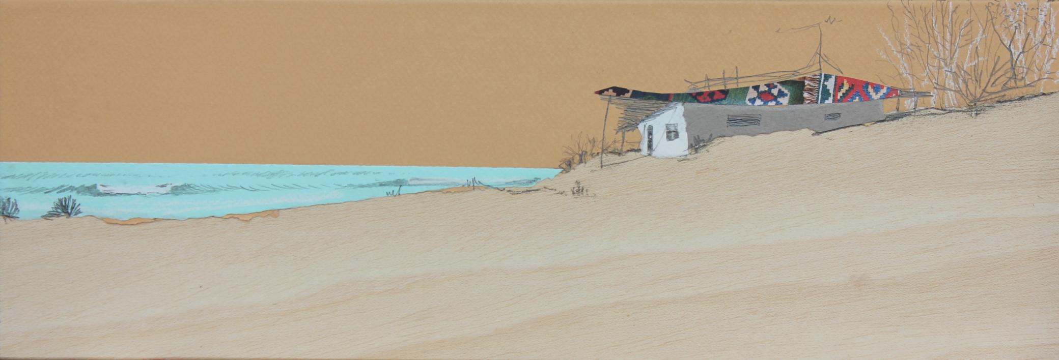 Duna y calma  Collage de Eduardo Query   Compra arte en Flecha.es