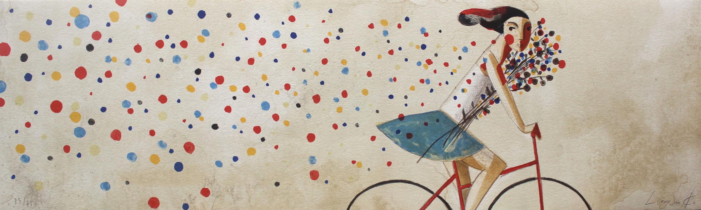 Colores |Obra gráfica de Didier Lourenço | Compra arte en Flecha.es