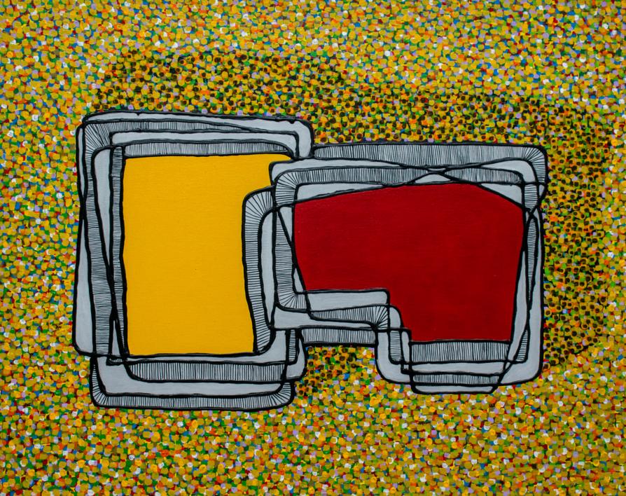 Visiones de Conjunto #2 |Pintura de Germán Trujillo | Compra arte en Flecha.es