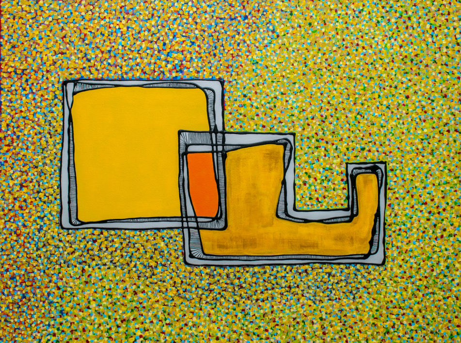 Visión de Conjunto #6 |Pintura de Germán Trujillo | Compra arte en Flecha.es