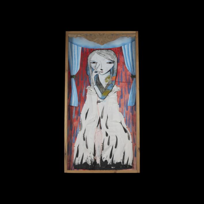 Alegoría de una virgen by WONDERLAND | Collage de Katarzyna Rogowicz | Compra arte en Flecha.es