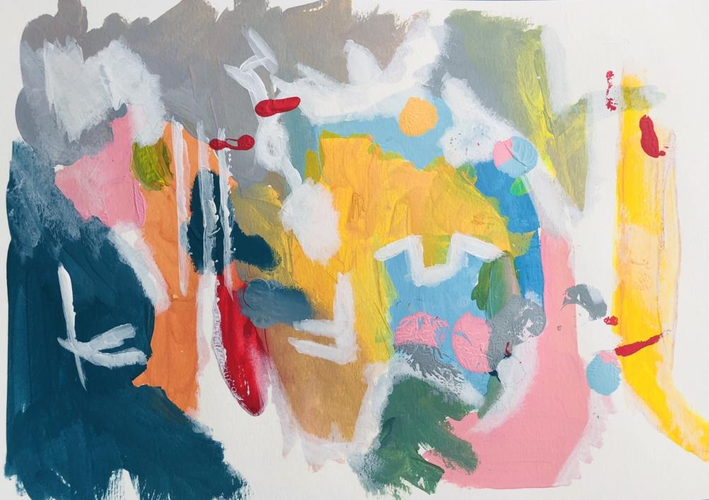 LANZAROTE II |Pintura de Iraide Garitaonandia | Compra arte en Flecha.es
