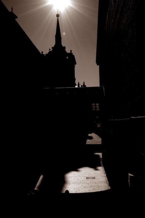 Contraluz El Escorial |Fotografía de Enrique Pazos | Compra arte en Flecha.es