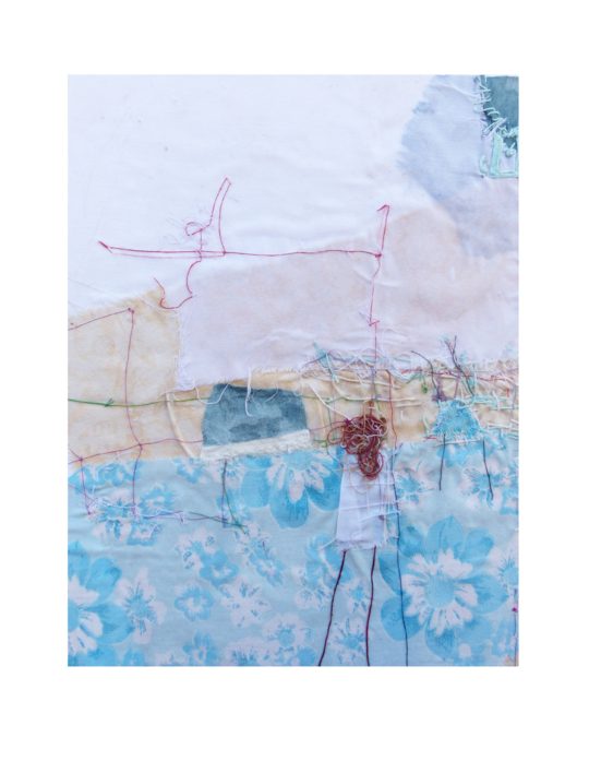 """RECIÉN LEVANTADA"" |Collage de Julia Fragua | Compra arte en Flecha.es"