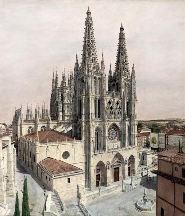 La Catedral de Burgos.  Fotografía de Carlos Arriaga   Compra arte en Flecha.es