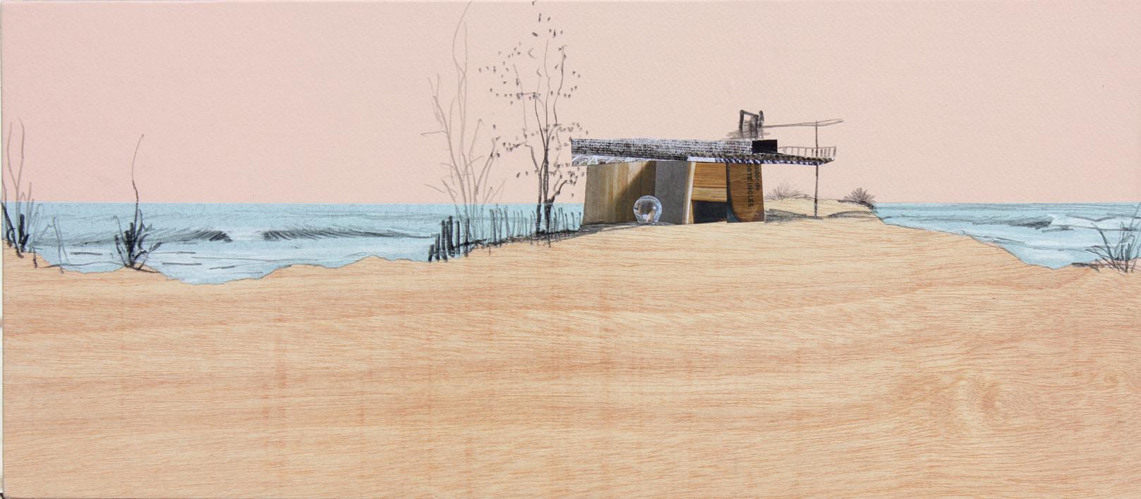 Tarde de marzo |Collage de Eduardo Query | Compra arte en Flecha.es