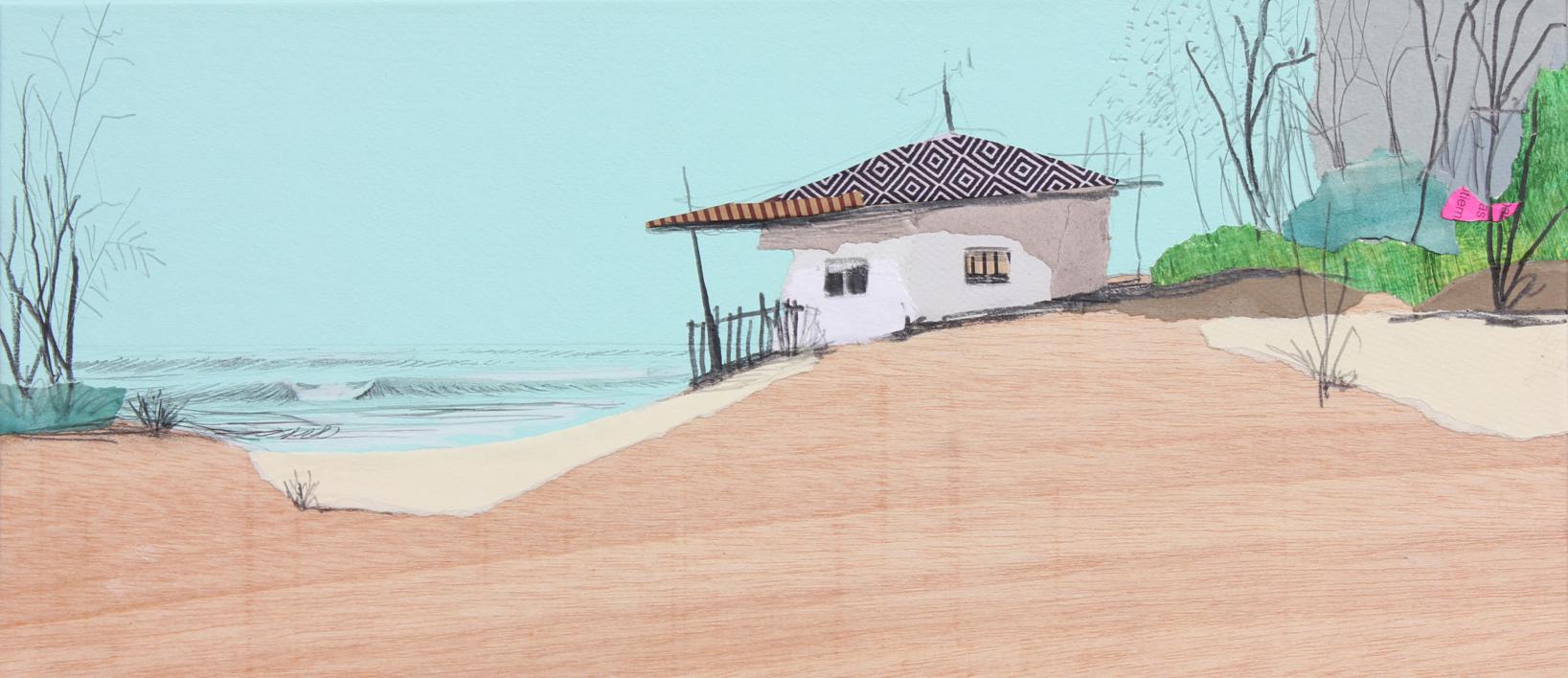 Turquesa vegetal |Dibujo de Eduardo Query | Compra arte en Flecha.es