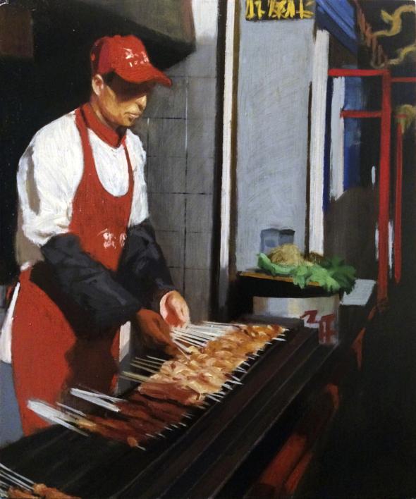鱿⻥鱼 (Calamares) |Pintura de Pablo Colomo | Compra arte en Flecha.es