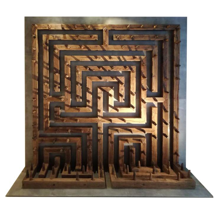 Cálculo y azar |Escultura de Alberto Carvajal | Compra arte en Flecha.es