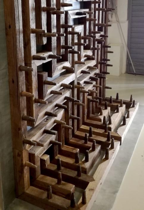 Cálculo y azar | Escultura de Alberto Carvajal | Compra arte en Flecha.es
