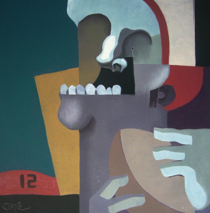 Quarterback |Pintura de Carlos Blanco Artero | Compra arte en Flecha.es