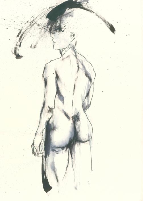 The Dancer |Ilustración de Valero | Compra arte en Flecha.es