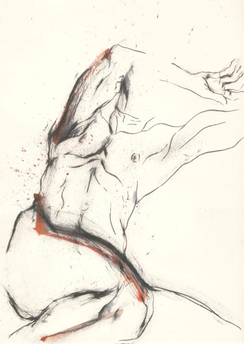 In bed with the Devil |Ilustración de Valero | Compra arte en Flecha.es