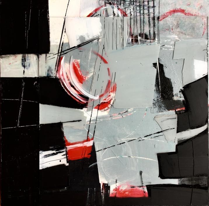 R, B &W | Collage de Erika Nolte | Compra arte en Flecha.es