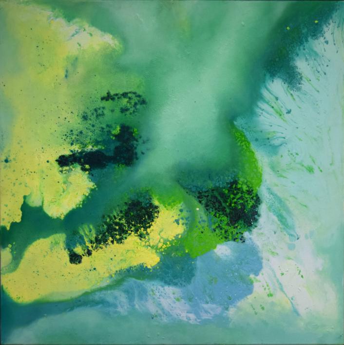 [aguas] X |Pintura de Elisa de la Torre | Compra arte en Flecha.es