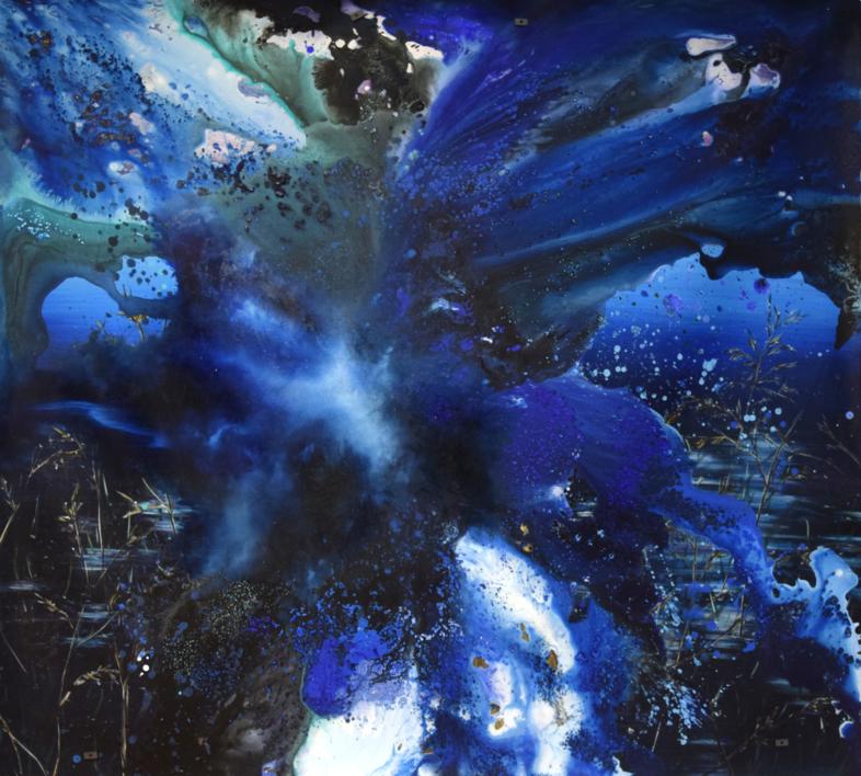 [aguas] XI |Pintura de Elisa de la Torre | Compra arte en Flecha.es