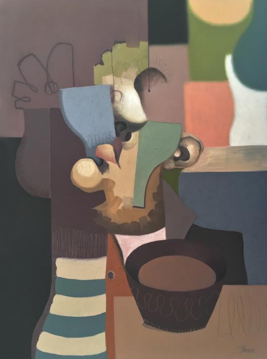 Cold soup |Pintura de Carlos Blanco Artero | Compra arte en Flecha.es