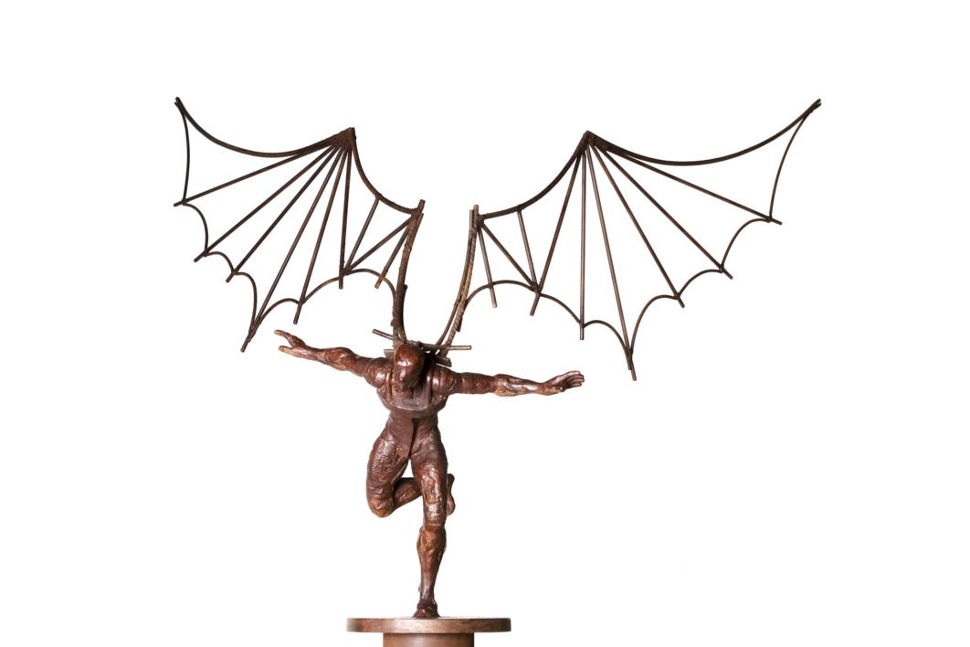 ICARO IV |Escultura de Fernando Suárez | Compra arte en Flecha.es