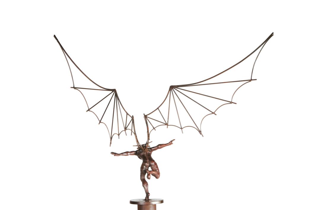 ICARO IV | Escultura de Fernando Suárez | Compra arte en Flecha.es