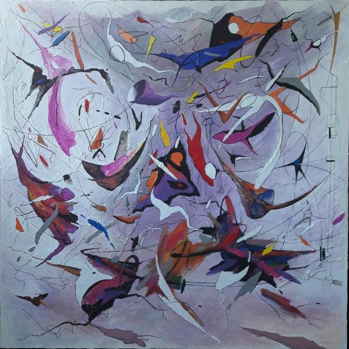 Un bel dì vedremo - Madame Butterfly de Giacomo Puccini |Pintura de Valeriano Cortázar | Compra arte en Flecha.es