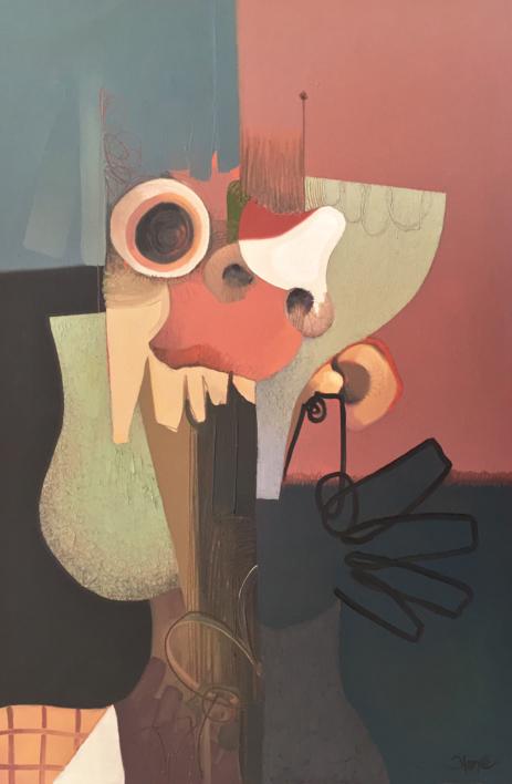 Grito |Dibujo de Carlos Blanco Artero | Compra arte en Flecha.es