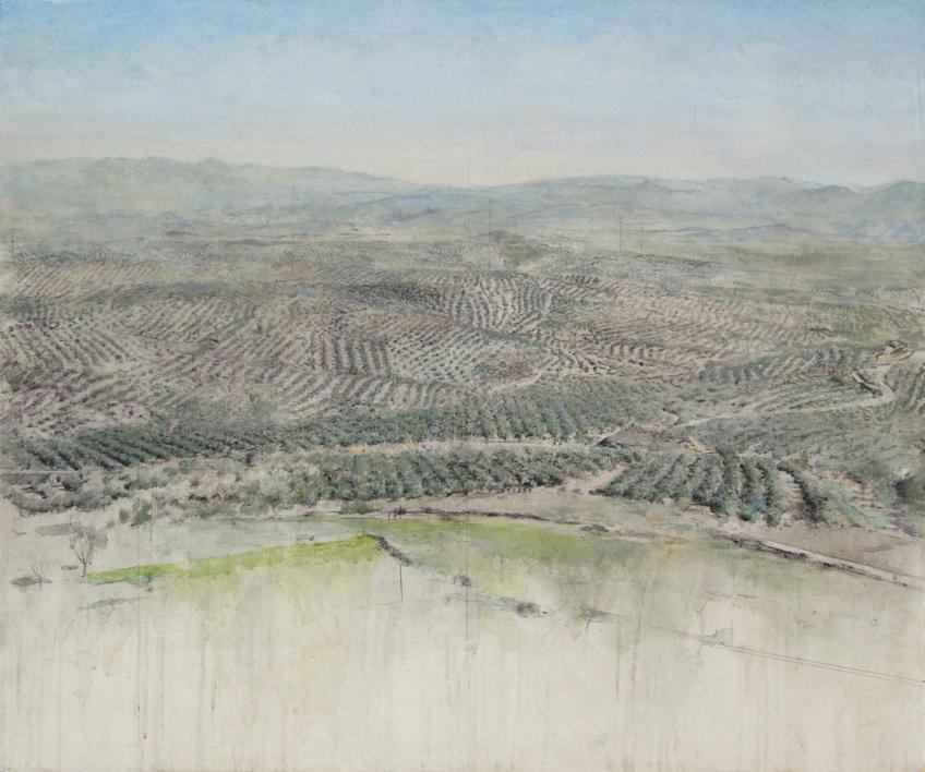 Cerros de Úbeda |Pintura de José Luis Romero | Compra arte en Flecha.es