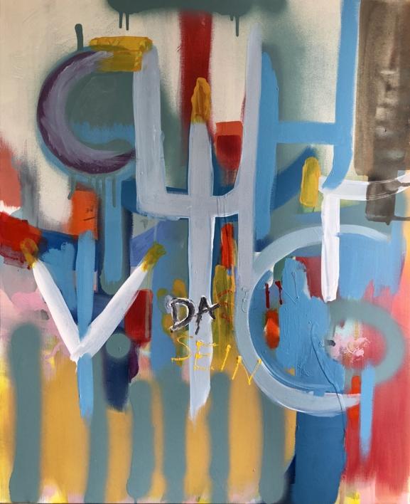 DA-SEIN II  Pintura de Iraide Garitaonandia   Compra arte en Flecha.es