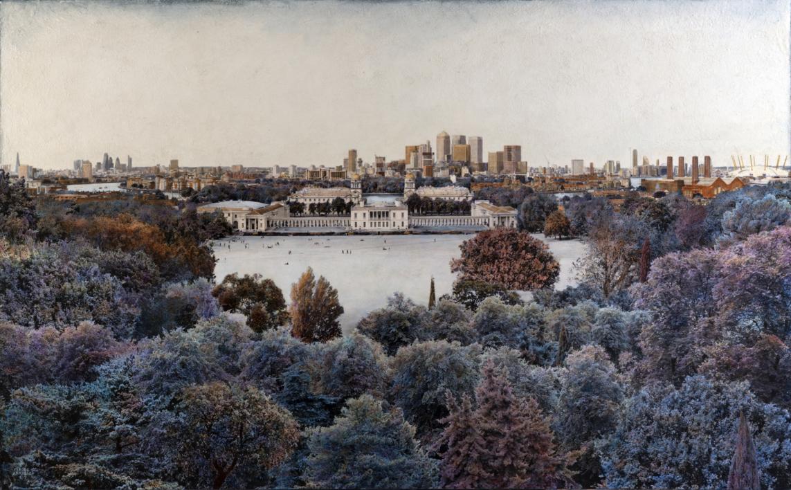 All London Over Greenwich Meridian |Fotografía de Carlos Arriaga | Compra arte en Flecha.es