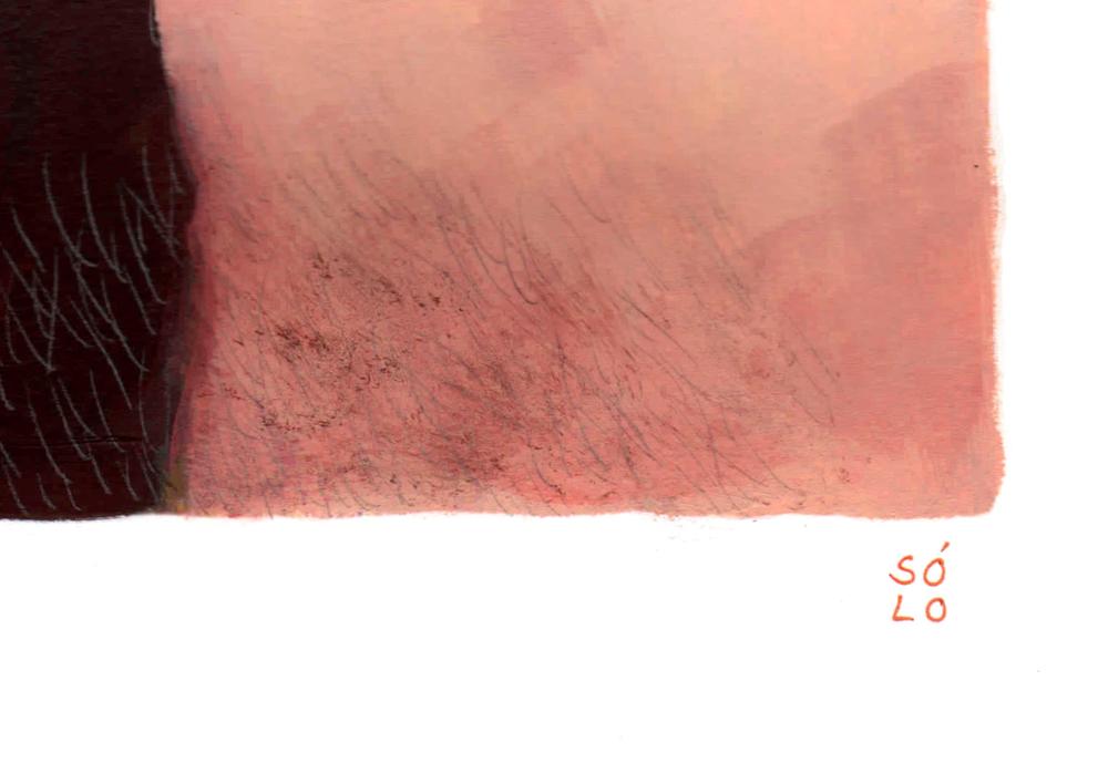 Si tú eres feliz   Pintura de Bran Sólo   Compra arte en Flecha.es