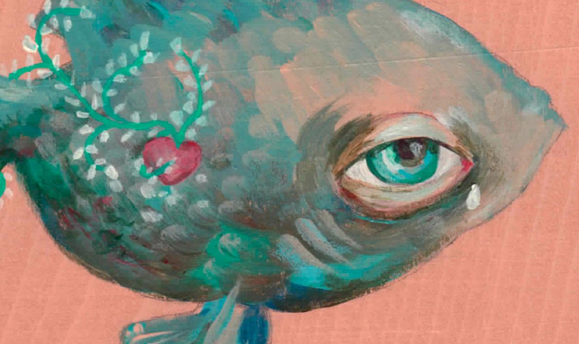 Poisson d'avril I | Pintura de Bran Sólo | Compra arte en Flecha.es