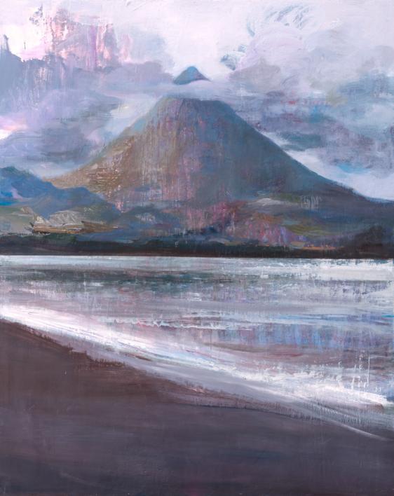 Volcan |Pintura de Carmen Montero | Compra arte en Flecha.es