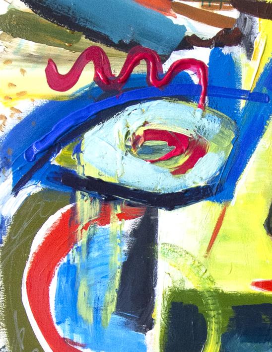 Between Dream And Archetype Woman In The Hat | Pintura de Maciej Cieśla | Compra arte en Flecha.es