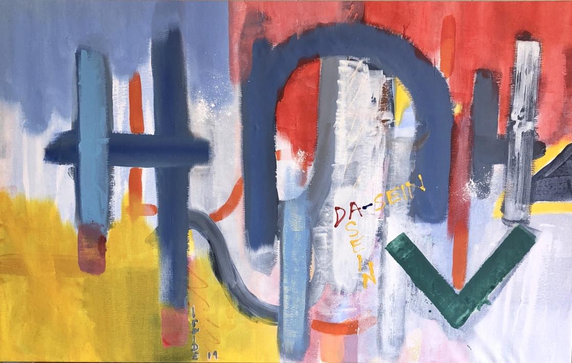 DA-SEIN IV |Pintura de Iraide Garitaonandia | Compra arte en Flecha.es