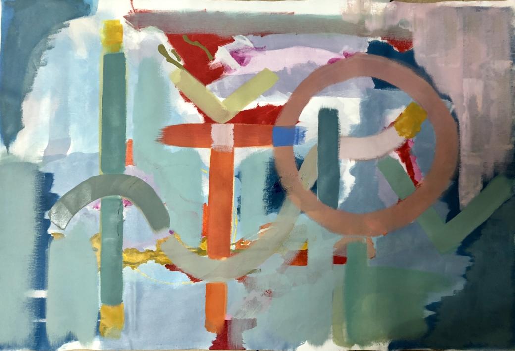 DA-SEIN VIII |Pintura de Iraide Garitaonandia | Compra arte en Flecha.es