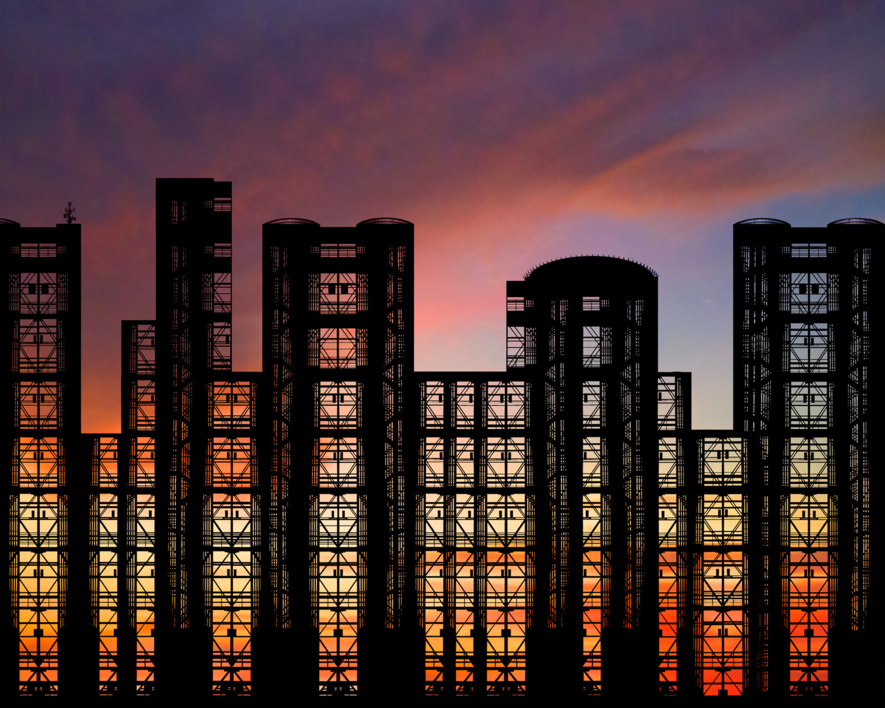 Steel & Glass |Digital de Andy Sotiriou | Compra arte en Flecha.es