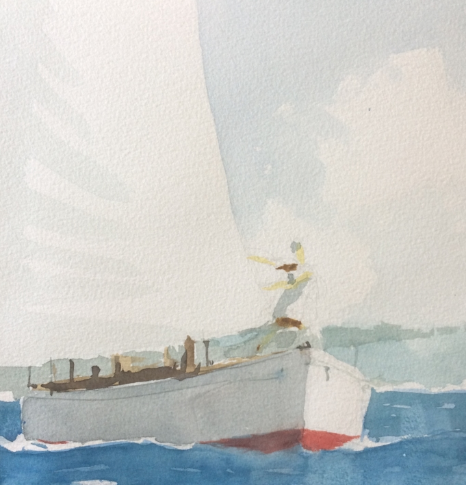 Proa |Pintura de Iñigo Lizarraga | Compra arte en Flecha.es