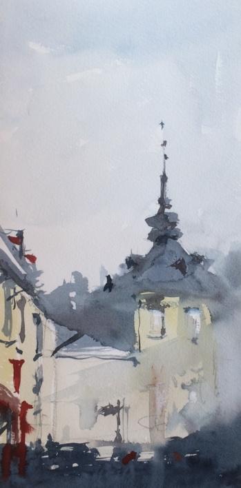 Farinelli. La Granja |Pintura de Iñigo Lizarraga | Compra arte en Flecha.es
