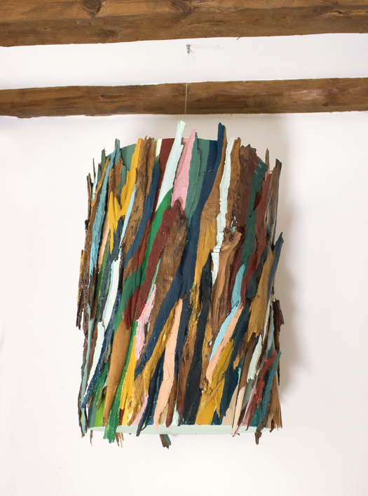 Eucalipto VII móvil  Collage de Crisdever   Compra arte en Flecha.es