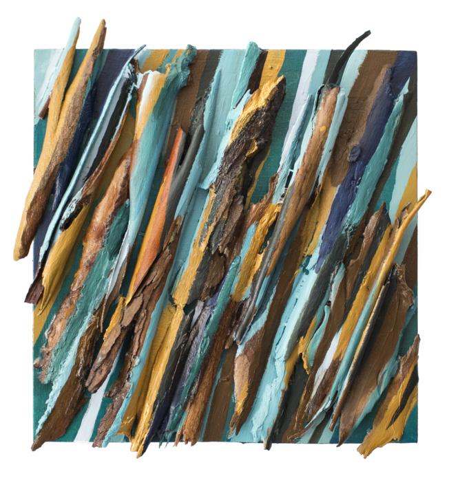 Eucalipto X |Collage de Crisdever | Compra arte en Flecha.es