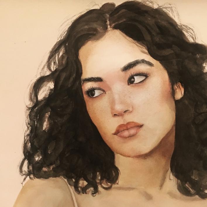 Warm vibes | Pintura de EVA GONZALEZ MORAN | Compra arte en Flecha.es