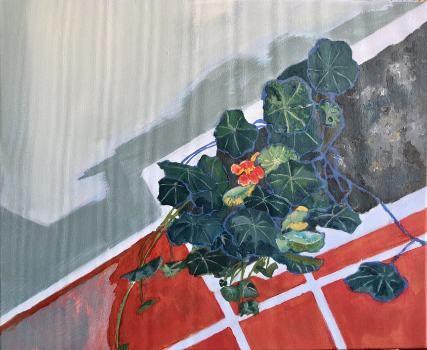 ENREDADERA |Pintura de Iraide Garitaonandia | Compra arte en Flecha.es