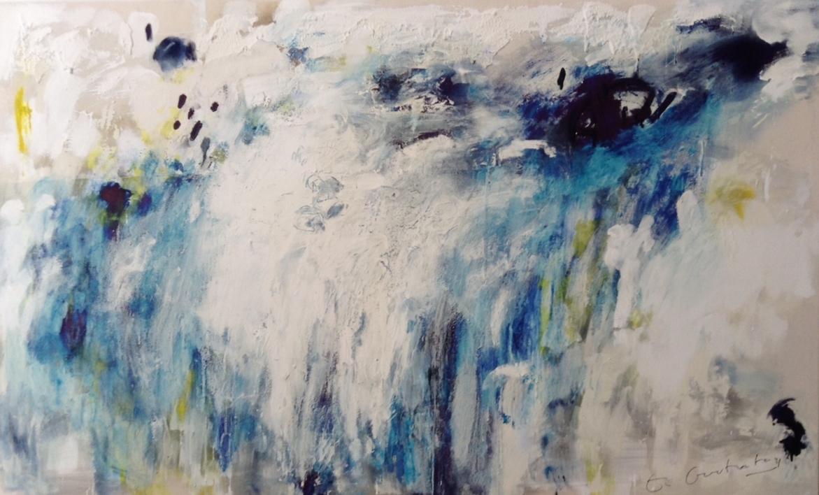 Paisaje Celeste I |Pintura de Edurne Gorrotxategi | Compra arte en Flecha.es