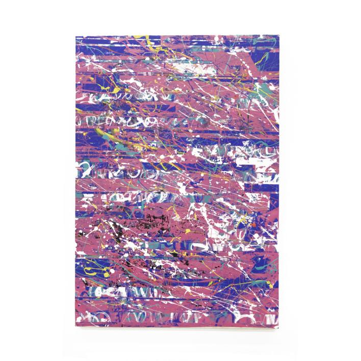 Pink Interferences |Pintura de Ana Dévora | Compra arte en Flecha.es